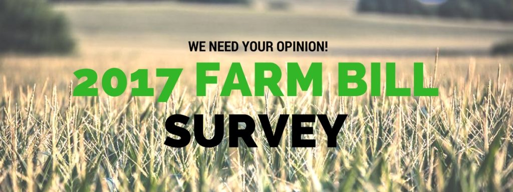 2017 Farm Bill Survey